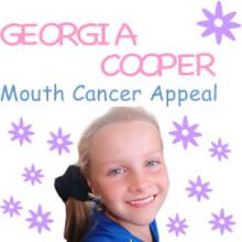 Georgia Cooper Mouth Cancer Appeal