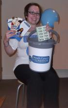 Kerry Small Raised Money for the Mouth Cancer Foundation
