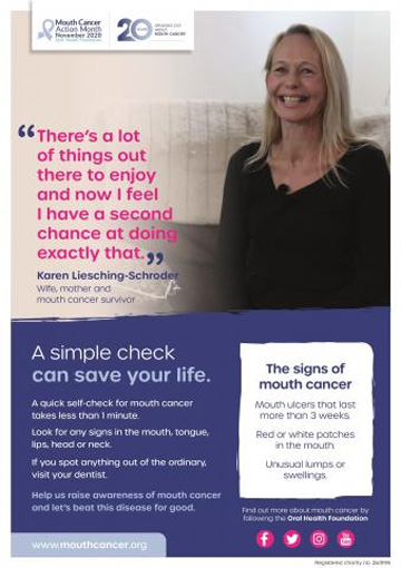 Mouth Cancer Action Month 2020