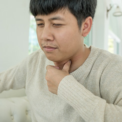 Persistent hoarseness or changes to the voice