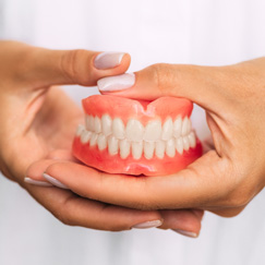 Dentures that suddenly stop fitting properly