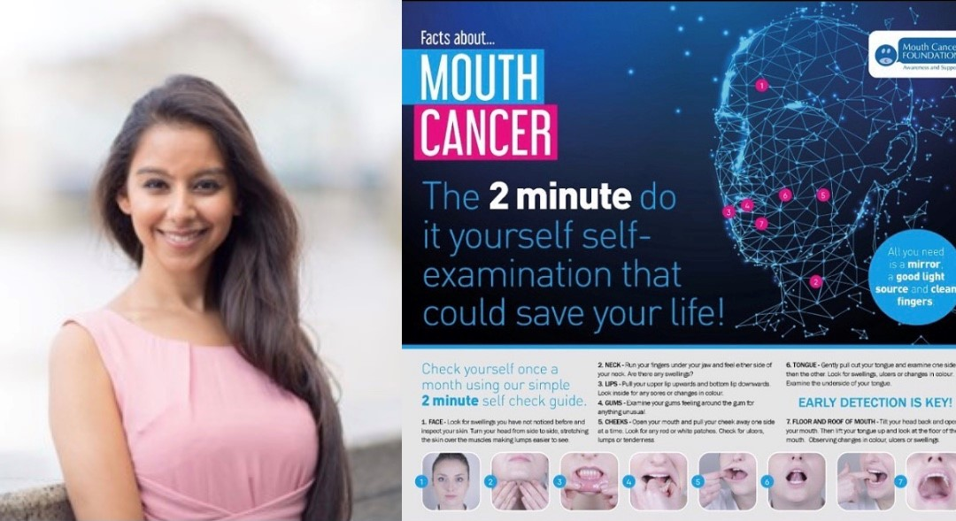 SELF-CHECKING FOR MOUTH CANCER ACTION MONTH